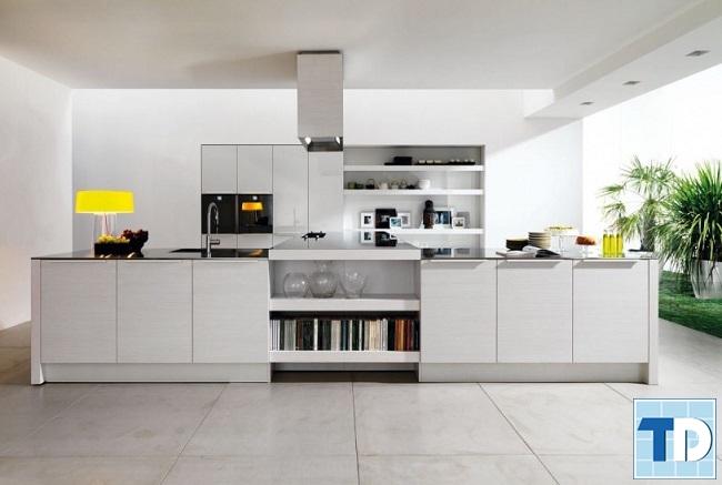 Căn bếp tiện nghi hiện đại với nội thất cao cấp