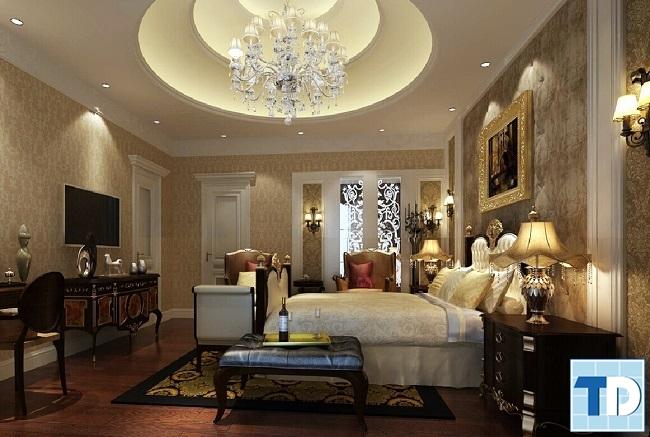 Thiết kế phòng ngủ nơi yên bình và cân bằng các yếu tố âm dương