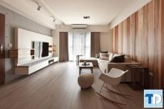 Thiết kế nhà đẹp nổi bật nội thất bếp siêu đẳng - Nhà chị Linh Times City