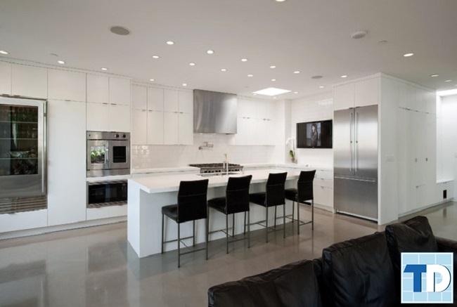 Phòng bếp hiện đại cao cấp