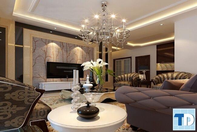 Thiết kế căn hộ cao cấp hoàng gia quý tộc - nhà anh Minh Hapulico
