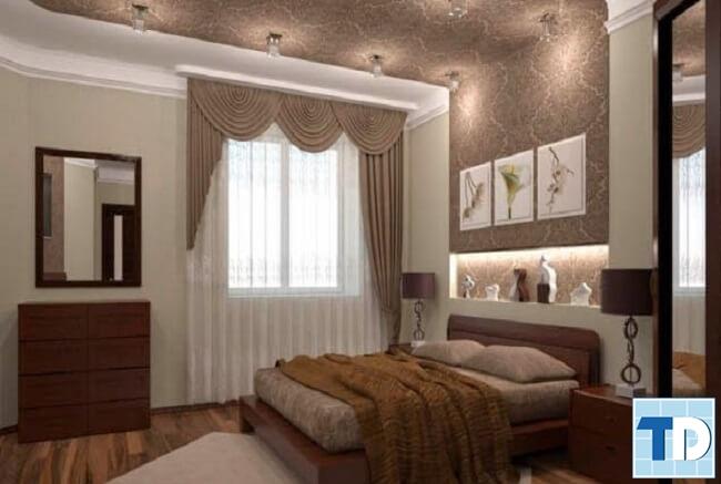 Phòng ngủ con gái đơn giản