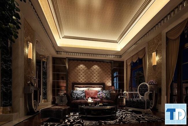 Thiết kế căn hộ phong cách tân cổ điển - nhà anh Đạt Mandarin Garden