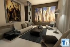 Thiết kế nội thất căn hộ Vinhomes Riverside đẹp như mơ - nhà anh Sơn