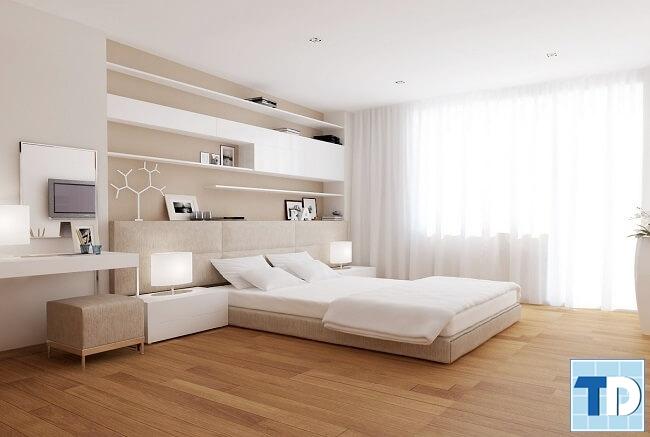 Phòng ngủ con gái trang nhã tinh tế