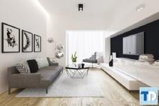 Thiết kế căn hộ chung cư TSQ Euroland đẹp lộng lẫy - nhà chị Nga