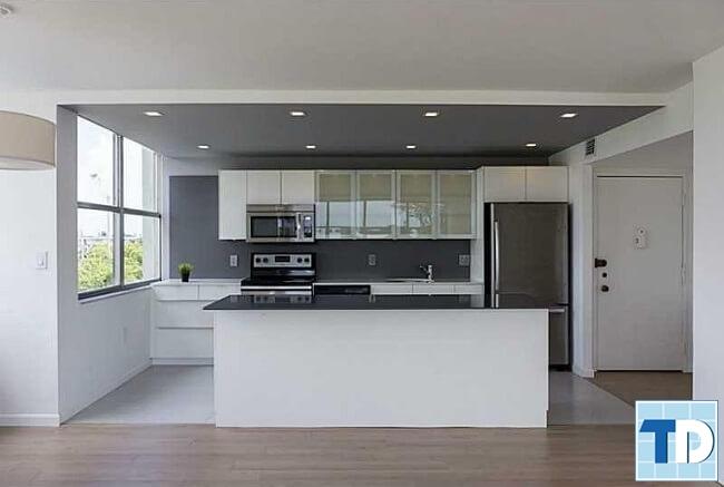 Khu bếp hiện đại tiện nghi
