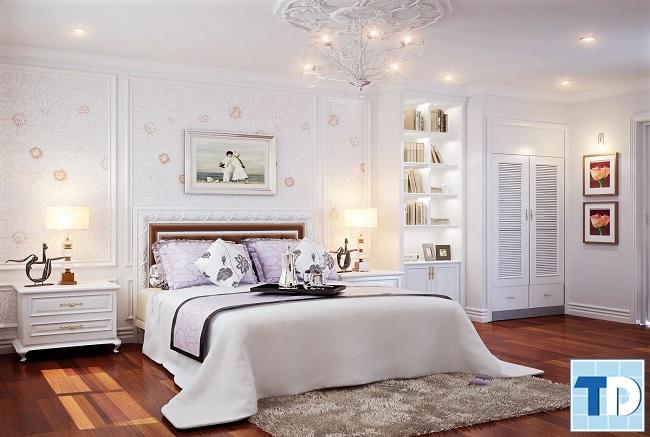Phòng ngủ con gái đẹp tinh tế