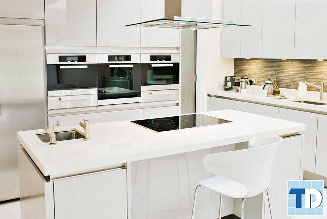 Phòng bếp cao cấp tiện nghi