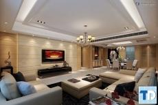 Thiết kế căn hộ Tràng An Complex 102 Hoàng Quốc Việt -  nhà chị Hòa