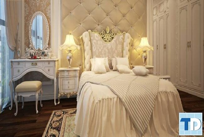 Phòng ngủ con gái nữ tính