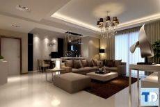 Thiết kế căn hộ Riverside Garden đẹp nhỏ gọn tiện nghi - nhà chị Diệp
