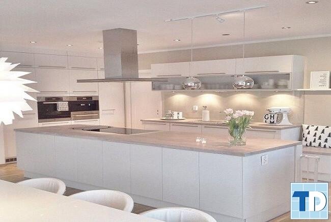 Phòng bếp hiện đại tiện nghi cao cấp