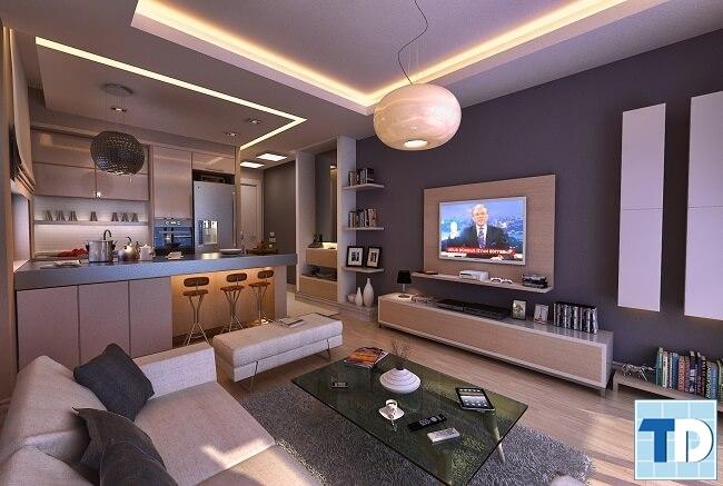 Nội thất căn hộ One 18 Ngọc Lâm hiện đại đẳng cấp