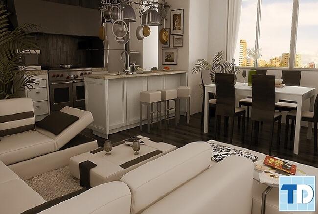 Thiết kế căn hộViệt Đức Complex sang trọng