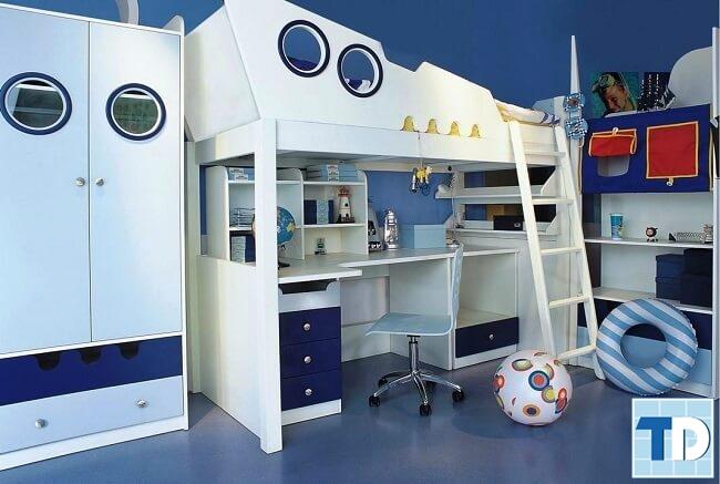 Phòng ngủ cậu con trai nhỏ