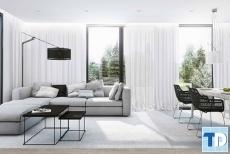 Thiết kế căn hộ Vinhomes Liễu Giai sang trọng hiện đại - nhà chị Thu