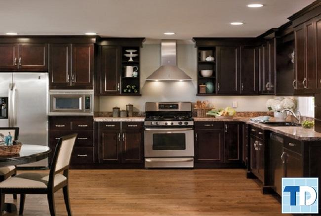 Phòng bếp gỗ cao cấp