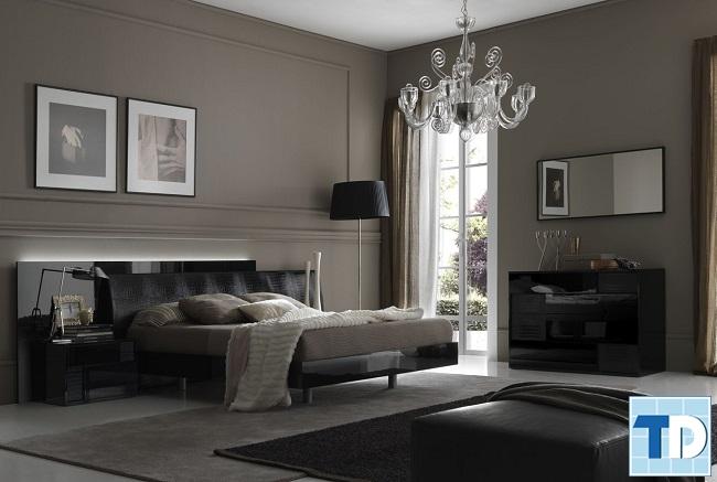 Phòng ngủ master đẹp lãng mạn