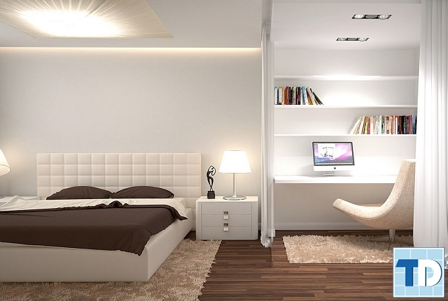 Phòng ngủ con gái trang nhã