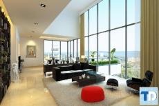 Thiết kế căn hộ Aqua Spring 282 Nguyễn Huy Tưởng -  nhà chị Tuyết