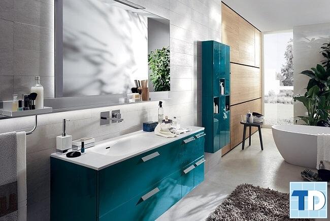 Phòng tắm hiện đại với các thiết bị vệ sinh cao cấp