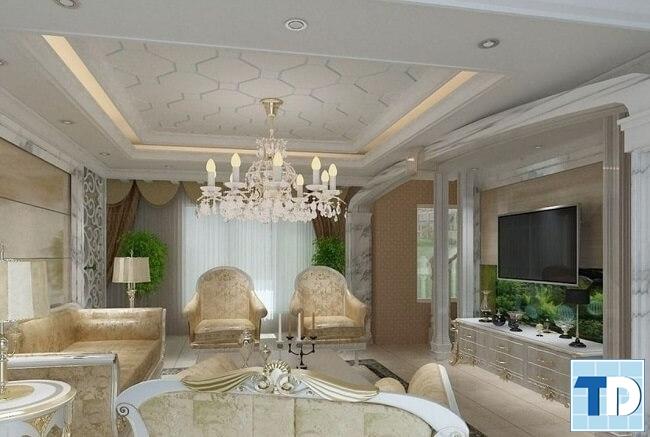 Thiết kế căn hộ Madarin Garden phong cách tân cổ điển -  nhà anh Thắng