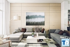 Mẫu thiết kế căn hộ Vinhomes Riveside cao cấp hiện đại - nhà anh Thái