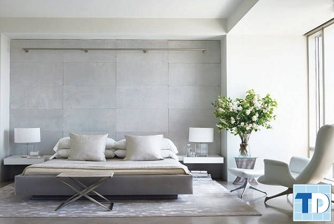 Phòng ngủ master đơn giản mà tinh tế