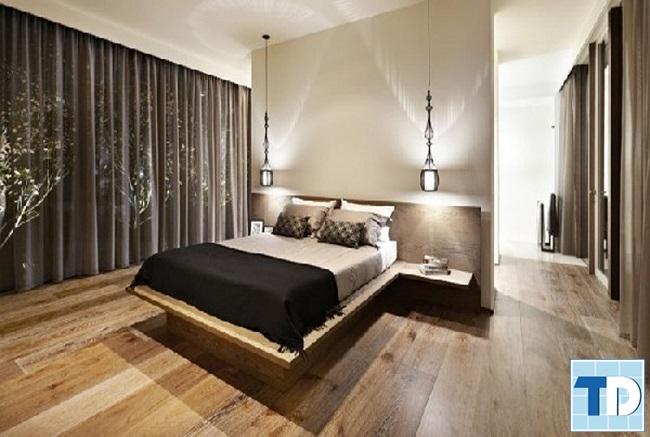 Phòng ngủ chính sang trọng lịch lãm