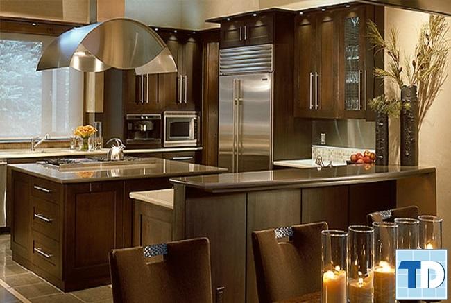 Phòng bếp cao cấp hiện đại