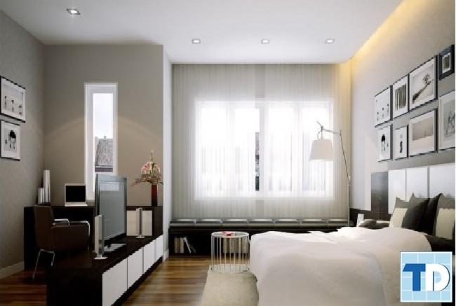 Phòng ngủ con gái lớn xinh xắn
