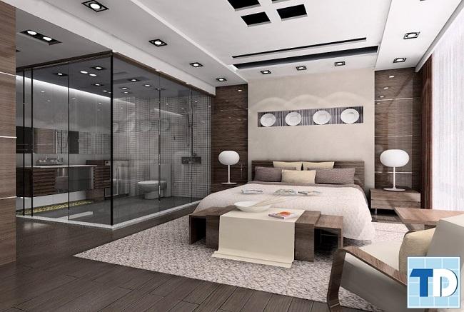 Phòng ngủ master sang trọng cao cấp