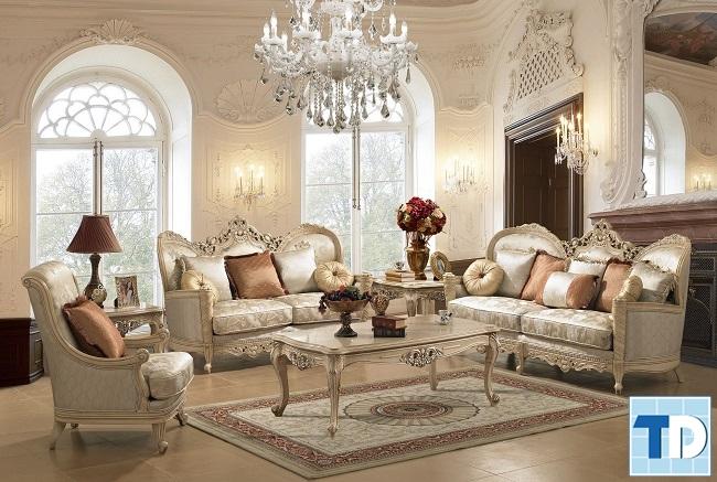 Mẫu thiết kế căn hộ One 18 Ngọc Lâm phong cách tân cổ điển