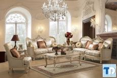 Mẫu thiết kế căn hộ One 18 Ngọc Lâm tân cổ điển đẹp lịch lãm - nhà chị Hoa