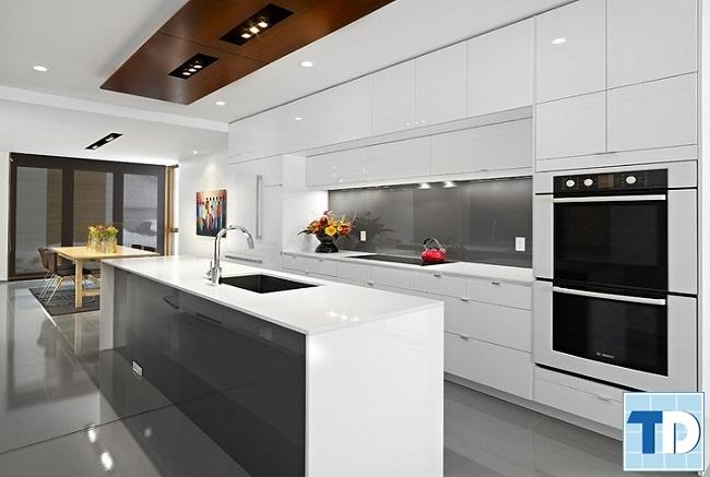 Phòng bếp tiện nghi hiện đại