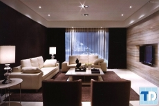 Thiết kế nội thất căn hộ Ruby Towers sang trọng - nhà anh Quyết