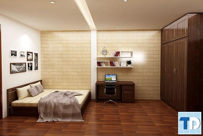 Phòng con trai đơn giản