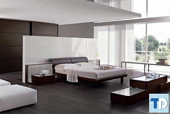 Phòng ngủ master đơn giản tinh tế