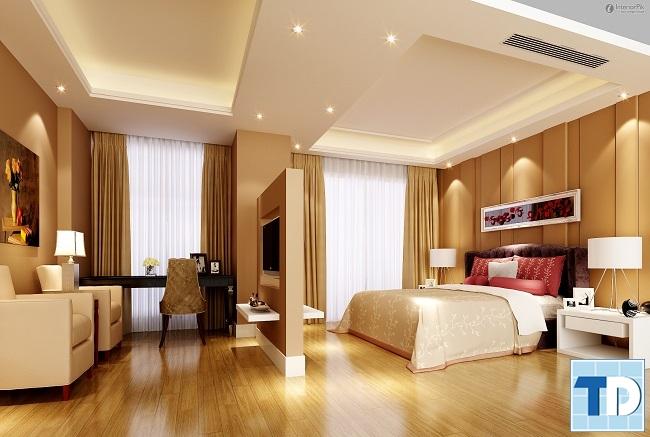 Phòng ngủ master rộng lớn