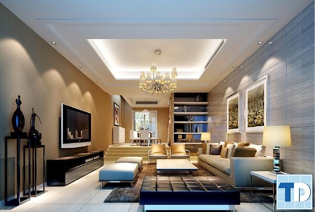 Thiết kế căn hộ Tân cổ điển sang trọng đẳng cấp
