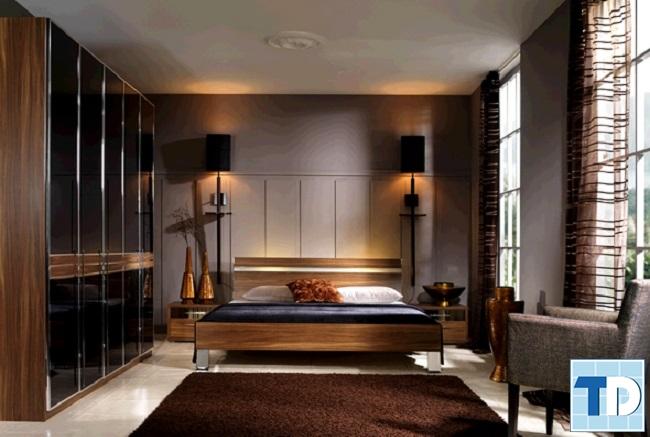 Phòng ngủ con trai lớn lịch lãm