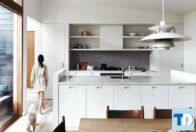 Phòng bếp tiện nghi đầy đủ công năng sử dụng