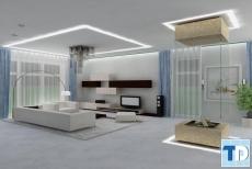 Thiết kế nội thất chung cư Vinhomes Gardenia Mỹ Đình - nhà chị Tuyết
