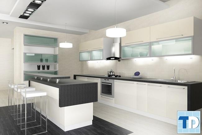 Phòng bếp đẹp cao cấp