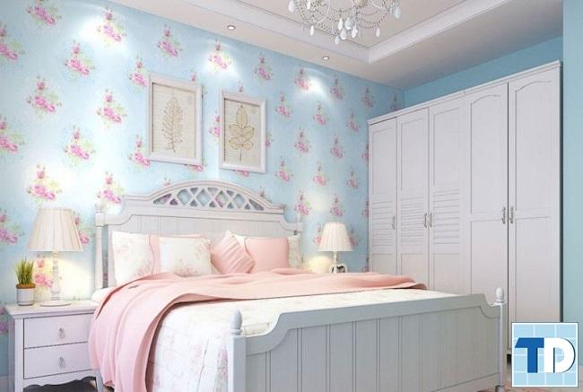 Phòng ngủ con gái nhỏ xinh xắn