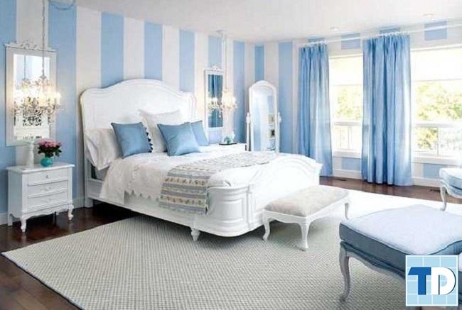 Phòng ngủ master nhẹ nhàng, lãng mạn