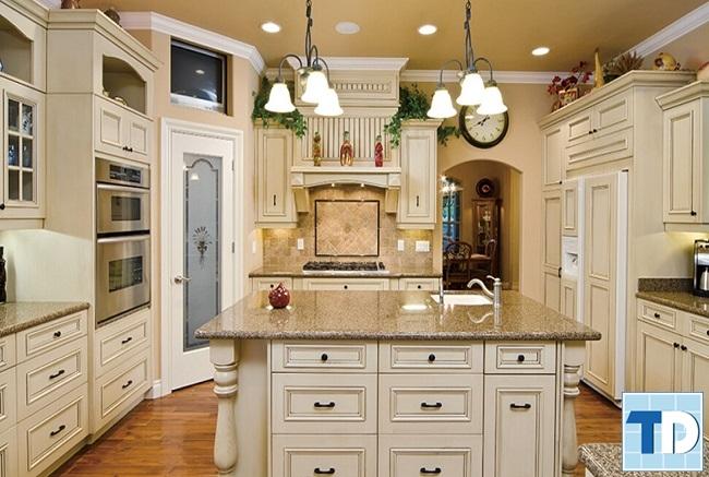 Phòng bếp tân cổ điển cao cấp