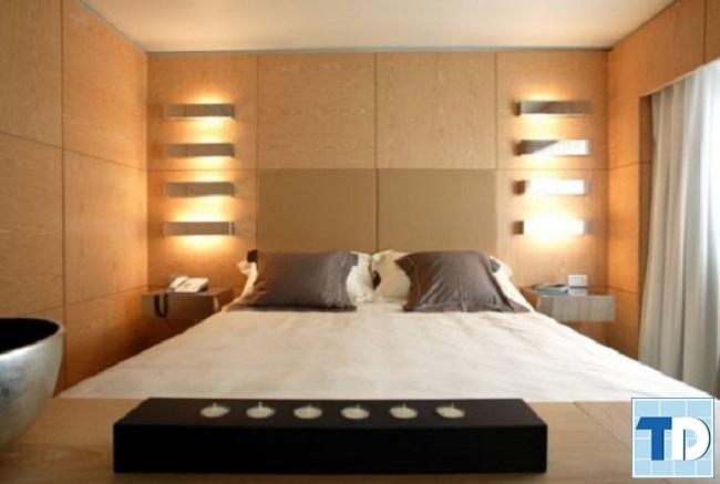 Phòng ngủ master trầm ấm