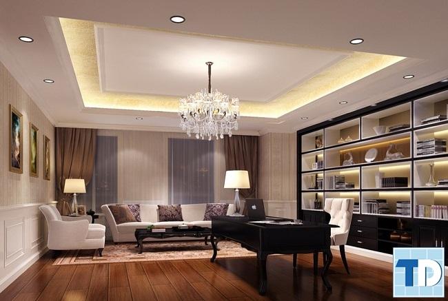 Thiết kế nội thất chung cư Star City tân cổ điển - nhà anh Hưng